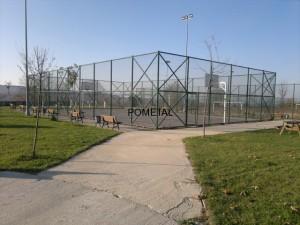 spor sahası yapımı
