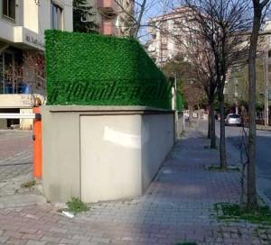 çim çit ve çim duvar site uygulama