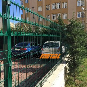 mızraklı panel çit site