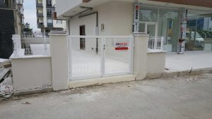sancaktepe panel çit kapı uygulama