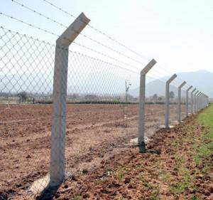 tarla beton direkli tel çit
