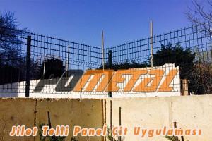 jilet telli panel çit